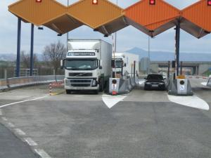 No a los peajes en los camiones por Ley