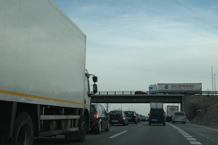 Las empresas deslocalizadas controlan la cuarta parte del transporte internacional español.